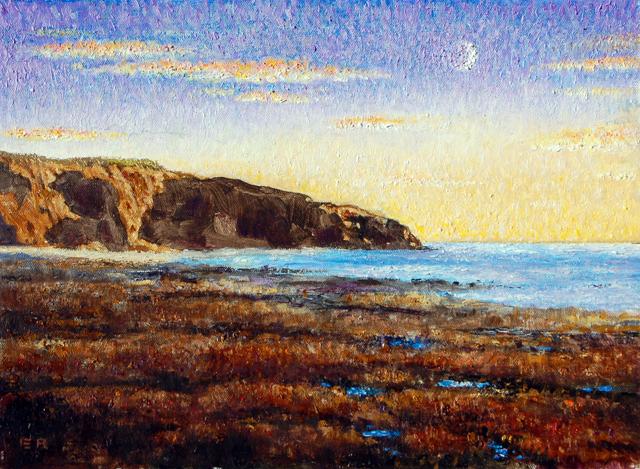 Cal Western Sunset cliffs