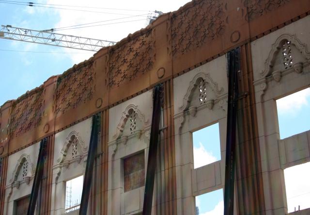 building facade as art respected