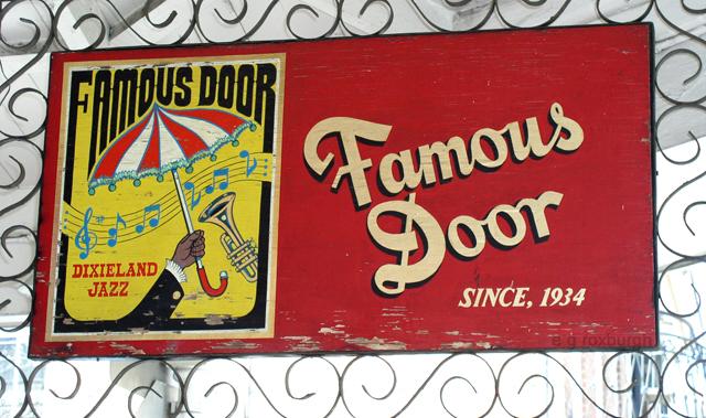 Famous Door in New Orleans