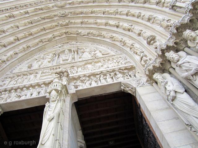 arch @ Notre Dame