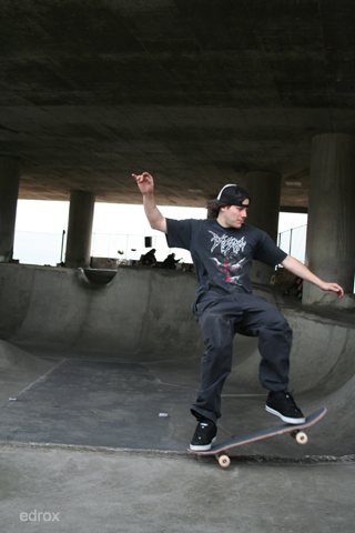 under freeway 5