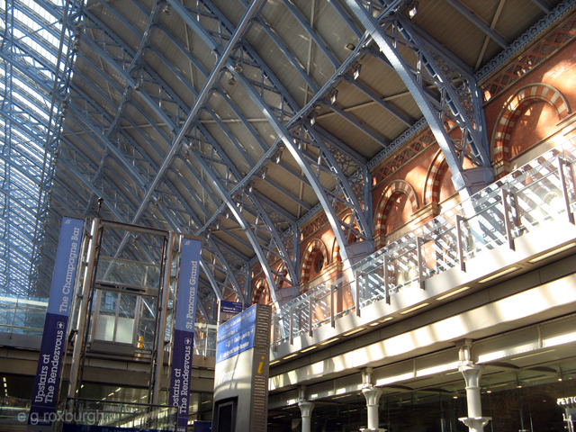 St Pancras station arches
