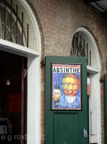 absinthe w Van Gogh 5/23/05