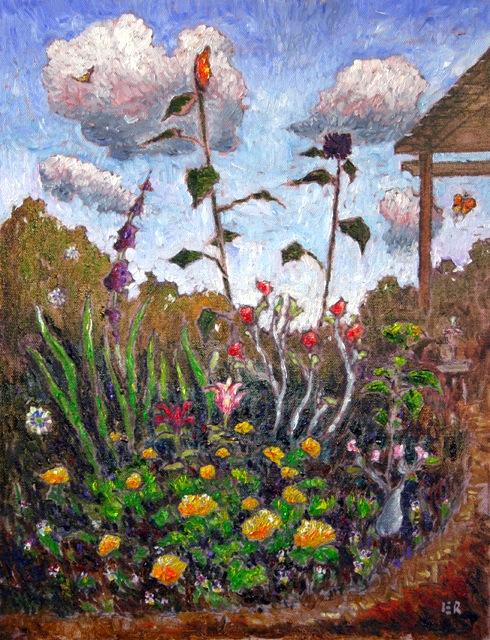 e-Garden w Sunflowers